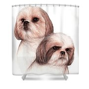 Butch And Bruser Shower Curtain