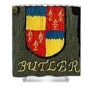 Butler Family Shield Shower Curtain