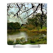 Butlers Retreat Epping Forest Uk Shower Curtain