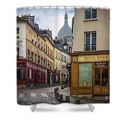 Butte De Montmartre Shower Curtain