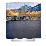 Butte Montana - Lake Berkeley Shower Curtain