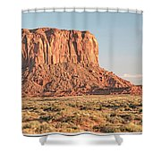 Butte, Monument Valley, Utah Shower Curtain