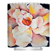 Butter Flower Shower Curtain