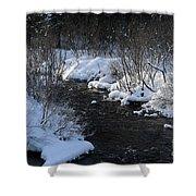Butterfield Brook Shower Curtain