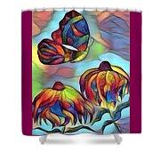 Butterflies For Children 1 Shower Curtain