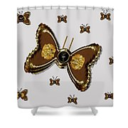 Butterflies For The Worlds  Future Shower Curtain
