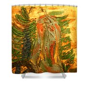 Butterfly - Tile Shower Curtain