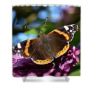 Butterfly 12 Shower Curtain