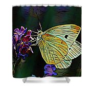 Butterfly 18718 Shower Curtain