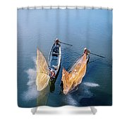 Butterfly-2 Shower Curtain by Okan YILMAZ