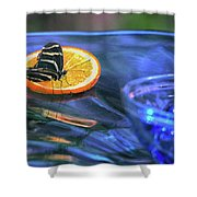 Butterfly 6316 Shower Curtain