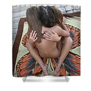 Butterfly 734 Shower Curtain