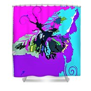 Butterfly Art By Lisa Kaiser Shower Curtain