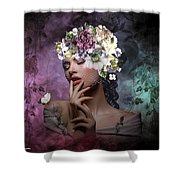 Butterfly Beauty 02 Shower Curtain