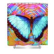 Butterfly Dreams Shower Curtain