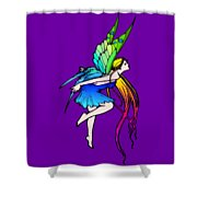 Butterfly Fairy Wings Shower Curtain