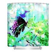Butterfly Fantasty Shower Curtain