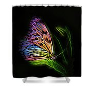 Butterfly Fantasy 2a Shower Curtain