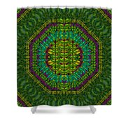 Butterfly Flower Jungle And Full Of Leaves Everywhere  Shower Curtain