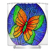 Butterfly Glory Shower Curtain