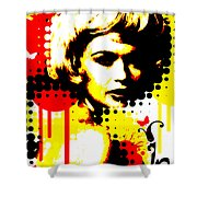 Butterfly Headcase Shower Curtain