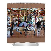 Butterfly Horse Shower Curtain