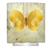 Butterfly IIi Shower Curtain