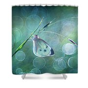 Butterfly Imagination Shower Curtain