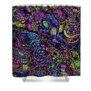 Butterfly Impressions Shower Curtain