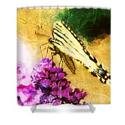 Butterfly Journey Shower Curtain