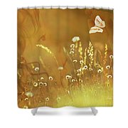 Butterfly Kiss Shower Curtain