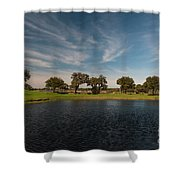 Butterfly Lake At Middleton Place Shower Curtain