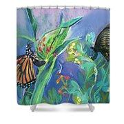 Butterfly Mammas Shower Curtain