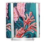 Butterfly Metamorphis Shower Curtain