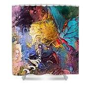 Butterfly Mind Shower Curtain