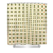 Butterfly Multiplication Abstract, Shower Curtain