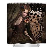 Butterfly Princess Of The Forest 2 Shower Curtain