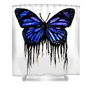 Butterfly Tears Shower Curtain