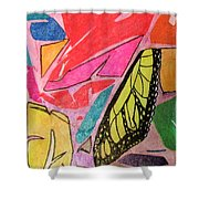 Butterfly Wing Shower Curtain