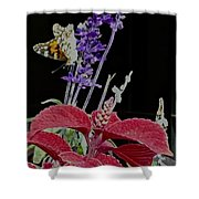Butterfly Wings Shower Curtain