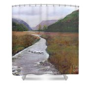 Buttermere In The Lake District Shower Curtain