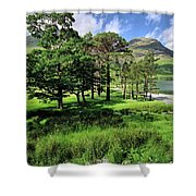 Buttermere Pines Shower Curtain