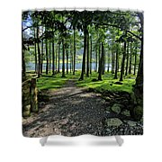 Buttermere Woods Shower Curtain