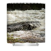 Buttermilk Falls Bubbles Shower Curtain