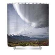Buttermilks Sky Shower Curtain