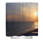 Buttery Sunset Shower Curtain