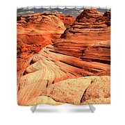 Buttes And Checkerboards Shower Curtain