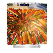 Bullet Proof Hurricane Glass One Shower Curtain