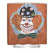 Buttons The Clown Shower Curtain