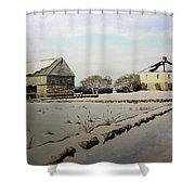 Buttonwood Farms Shower Curtain